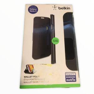 Belkin Wallet Folio Case for Galaxy Note 3